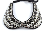 Колье-ошейник hot selling fake collars pearl beads collars necklaces detachable collars jewelry necklaces