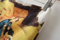 Новая мода лето сексуальные фото печати масляной краской юбка женщин девушка вскользь za бренда желтый шифон vestido