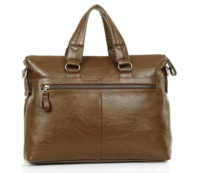 Men Shoulder Messenger Bag With PU Leather Handbag For Men Fashion
