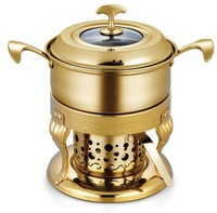 European fire boiler (Gold Package)/Exquisite chocolate fondue