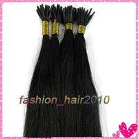 """18"""" Реми палки наконечник человеческого волоса расширений #01 100s 0,5 g/прядь 100strands/пакет"""