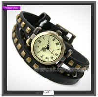 Наручные часы Kraft Roman rivet punk bracelet belt fashion restore ancient ways bracelet table and ladies watch man cheap watches