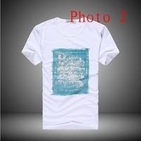 Мужская футболка New Men's BOSS Short sleeves T-Shirts.male slim round neck t-shirtBOSS11111118