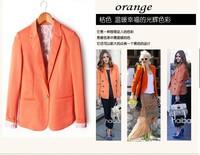 Женские пуховики, Куртки WOMAN SUIT BLAZER FOLDABLE BRAND JACKET women clothes suit one button shawl cardigan Coat