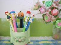 Детская плюшевая игрушка Holiday gift toy doll pen craft art children's product Fun decoration