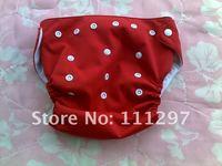 Товары для красоты и здоровья 5pcs TPU waterproof reusable pure colour baby cloth diapers/nappies +15 pcs inserts