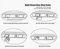 Система помощи при парковке Car Parking Camera for Ford Mondeo Focus S-MAX Auto Rear View Backup Reverse Camera Review Reversing Kit