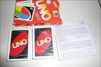 Игральные карты 120pcs/! UNO 108Cards Standard 108Cards