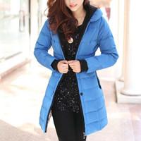 Женская одежда из меха Generic  Jacket Padded Quilt Winter