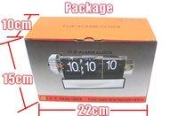 2шт/много творческий Рождественский подарок новый дизайн ретро флип часы с функцией сигнализации