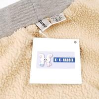 sl1042 5pcs/lot kk кролика бренд дети джинсы зимний толстые ребенка брюки
