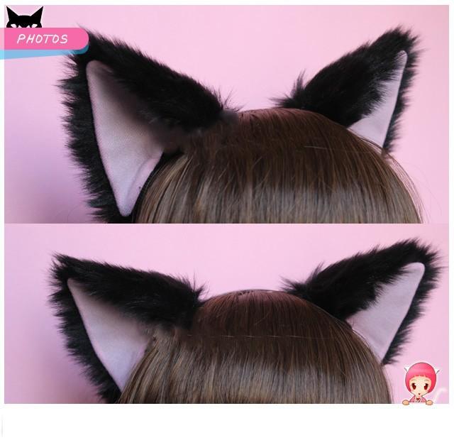 Disfraces orejas de gato imagui - Fundas para unas de gato ...