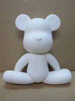 Картина Diy Bear Toys Cartoon Dolls 7 Inch DIY painted Platform Gifts Toy 12pcs/lot