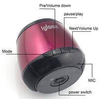 Потребительская электроника Wireless Bluetooth TF Card Travel Speaker, sound bar For iPhone/iPad/Samsung/HTC Phone