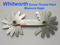 Инструменты измерения и Анализа 1pc 20 blades 55? Whitworth screw Thread Pitch Measure Gage
