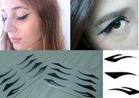 Товары для макияжа lady gaga 100set=400pairs 2012 NEW! Vintage Eye liner Sticker Shadow Sticker Smoky Eyes Sticker