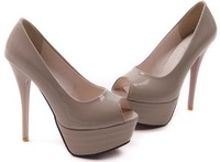 Туфли на высоком каблуке shoes 2012 NEW high heel dress high heels sandals peep toes women sexy P206 Hot sell size 34-39