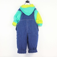 Комбинезон для мальчиков New 2013 Autumn children clothing baby bib pants hot-selling cow denim bib overalls kids for1-3 years