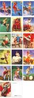 Поздравительная открытка LAVERTON Elvgren PIN/up & /102 * 142