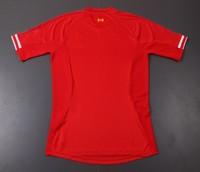 Мужская футболка для футбола New arrive! Top thailand quality Liverpool 13-14 Home Jersey soccer shirt 8# gerrard 5 AGGER 4SAHN Jersey soccer