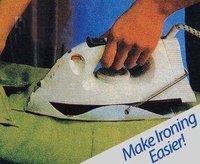 Электрический утюг The Amazing Iron Shoe Wonder shield/Iron wonder system makes ironning easier and faster