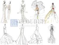 Платье для подружки невесты LU046 $ 50 Ruched LU049