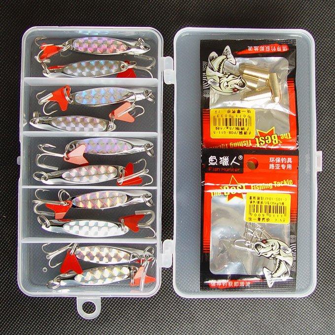 набор фиш для рыбалки