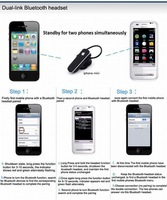 Наушники HM3900 Ear Hanging Stereo music Bluetooth Earphone Headset for samsung htc nokia iPhone bluetooth earphone universal