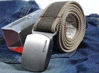 <WFSM>Free shipping fashion man belt.new brand best quality.military use.soldier canvas belt