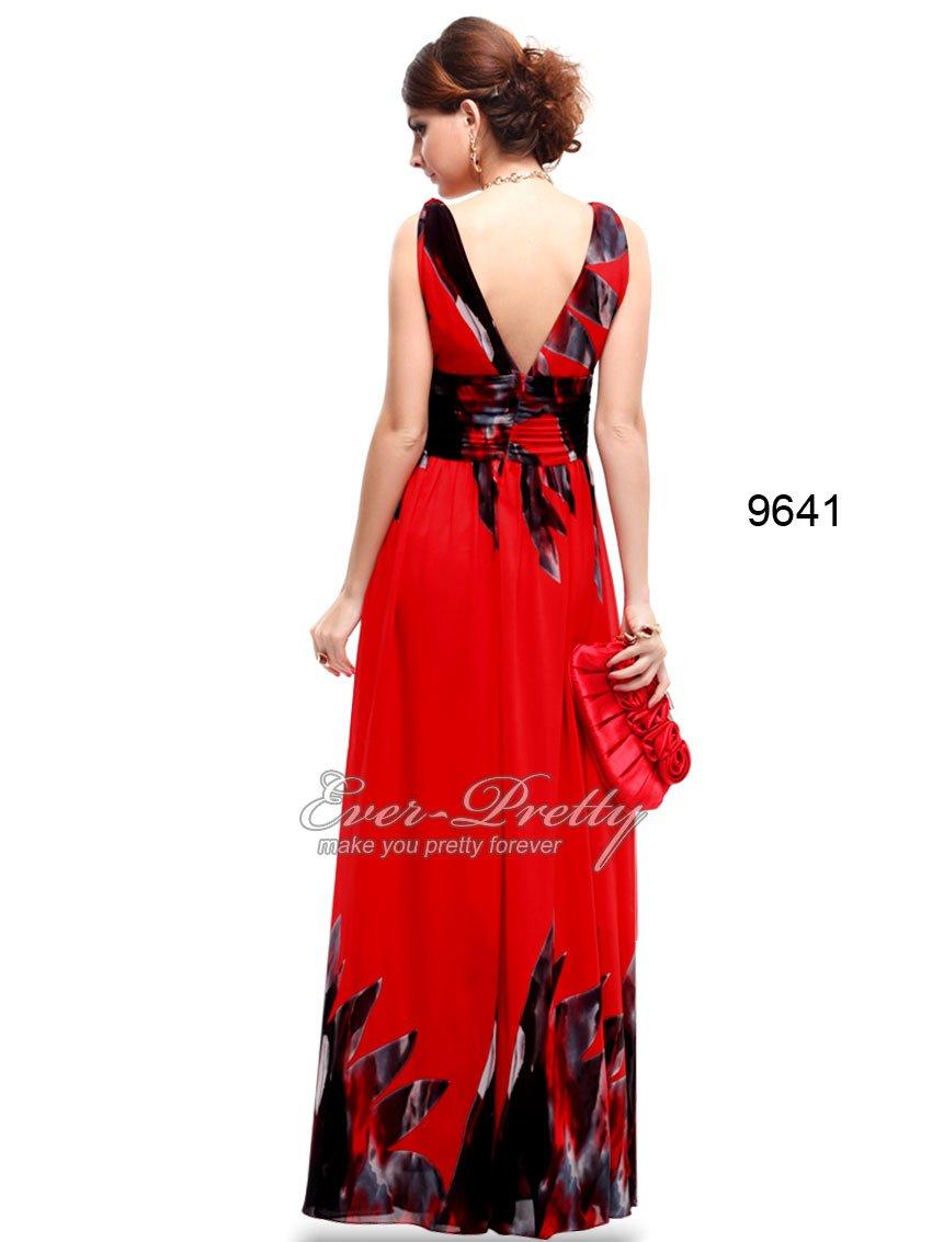 Платья из красного шифона