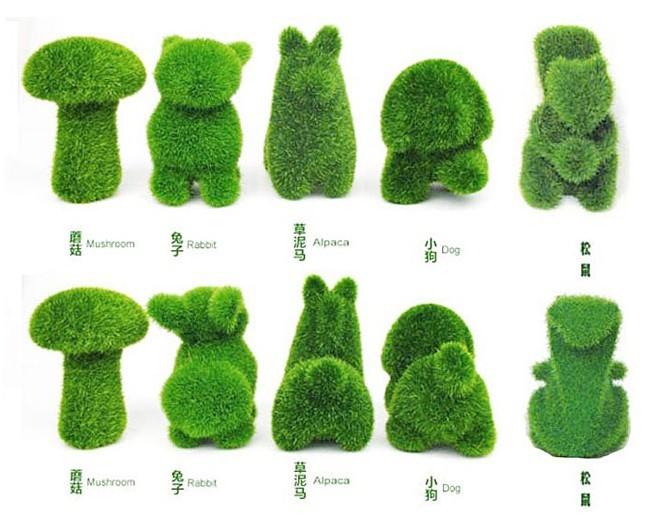 Поделки из искусственной травы своими руками