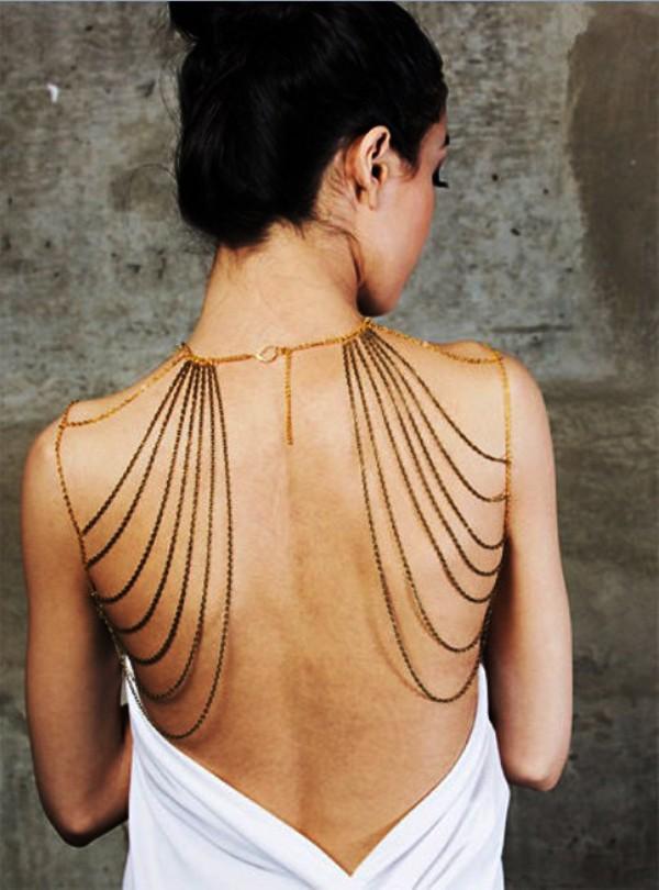 Украшение для платья на одно плечо своими руками
