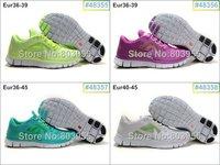 Женские кроссовки Higher quality hotsale 2012 NEW barefoot running shoes 5.0 V3 sports shoes 20 colors lowest pirce eur 36-45