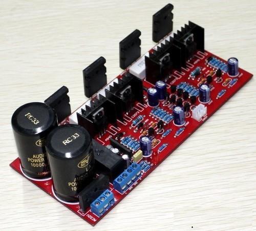 TTA1943/TTC5200 Плата усилителя (100 Вт + 100 Вт) собранная и протестированная плата 138 T2FlIWXfhaXXXXXXXX_!!49730822