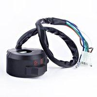 "12V Motorcycle 7/8"" Left Handlebar Control Light Blinker Turn signal/Horn/ Hight/Low Beams Switch Controller Master"