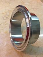 "4.0"" SS304 Tri-clamp union (2x ferrule + 1xclamp + 1xgasket)"