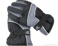 Лыжные перчатки High quality New 2013 -20 Degrees windproof fleece Outdoor Sports racing gloves Warm glove Ski gloves