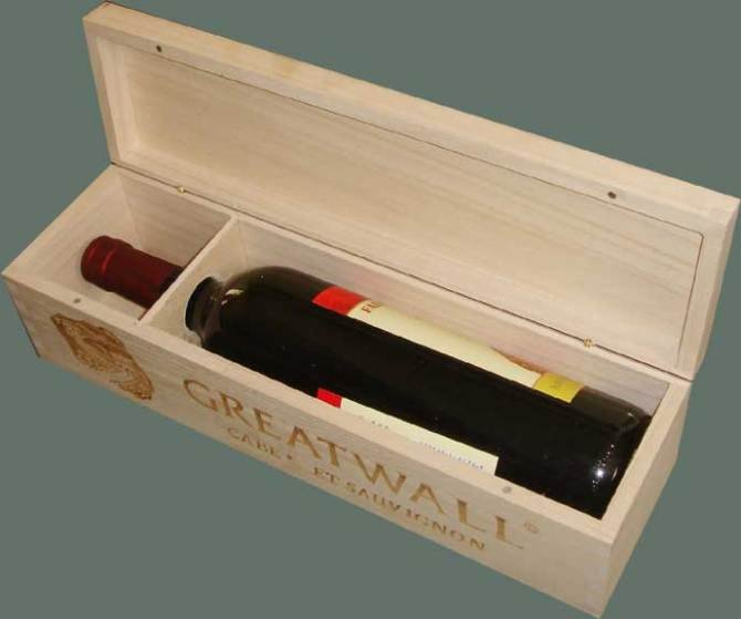 Wholesale custom wood wine box in packaging boxes from for Timber wine box