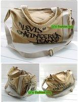 Маленькая сумочка New Black Unisex Canvas Messenger Shoulder Bag