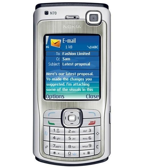 Мобильный телефон Nokia N70 GSM 3G Bluetooth 3.15MP FM MP3 в интернет-магазине Сena24.ru