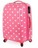 Дорожная сумка Fashion Dot Red / Ladies bags / trolley / wheel 20-inch suitcase