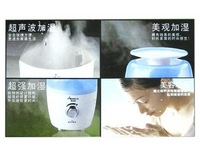 Free Shipping Exquisite Column Shape Humidifier with Mute Design - 1.2L Household Ultra-Mute Ultrasonic Air humidifier