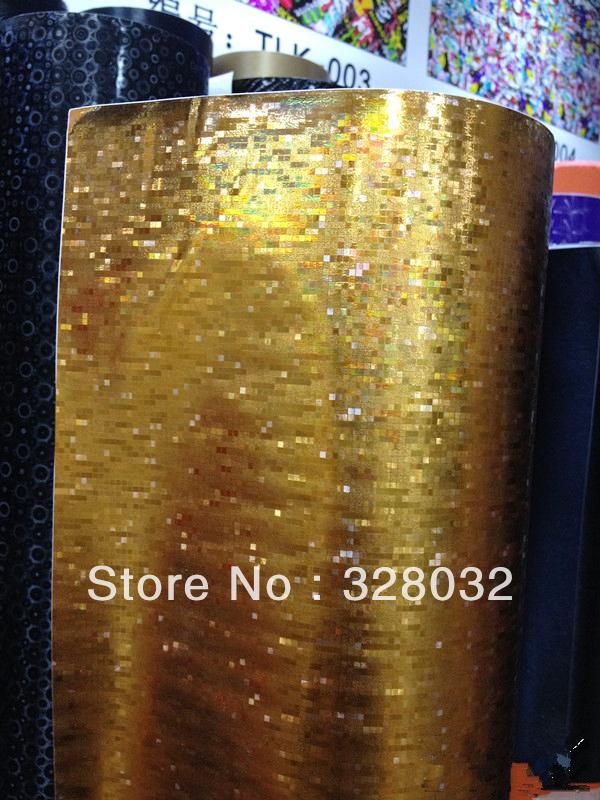Mosaic Skin design Vinyl film car sticker with Air Drains