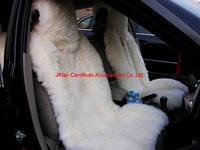 Чехлы для автокресел 1Set 100% Genuine Sheepskin Long And Short Hair Sheepskin Car Seat Cover CA1030