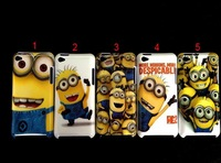 Потребительская электроника Cartoon Despicable Me Minions Hard Plastic Back Cover Case For iPod Touch 4 phone case