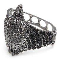 Ювелирные изделия оптом Owl bangle, Alloy Retro bracelet mixed color