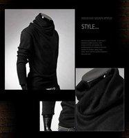Мужская футболка New Fashion Men t shirt/tops/long sleeve shirt/Casual Slim Fitting T-shirt, 6 Colors, M, L, XL, XXL + 313