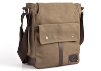 New Men Women Casual Canvas Small Messenger Shoulder Bag for Outdoor Travel Sporting