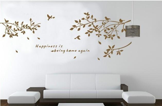 Beautiful stencil muro camera da letto pictures idee for Decorazioni muro camera da letto