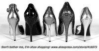 Metal Stiletto Heel Cross Shoes Peep Toe Pointed Heels Woman Party Shoes Black Heel Wholesale Shoes